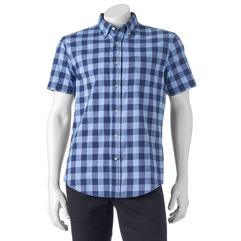 Big & Tall SONOMA Goods for Life™ Poplin Button-Down Shirt