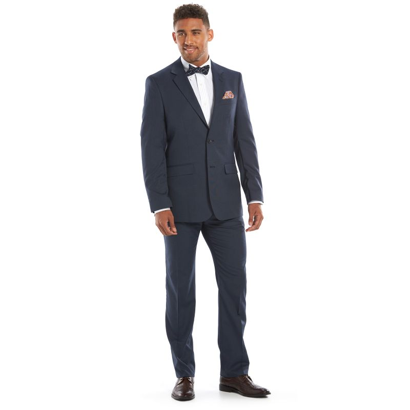Men's Apt. 9® Slim-Fit Unhemmed Suit, Size: 36R 28, Blue thumbnail
