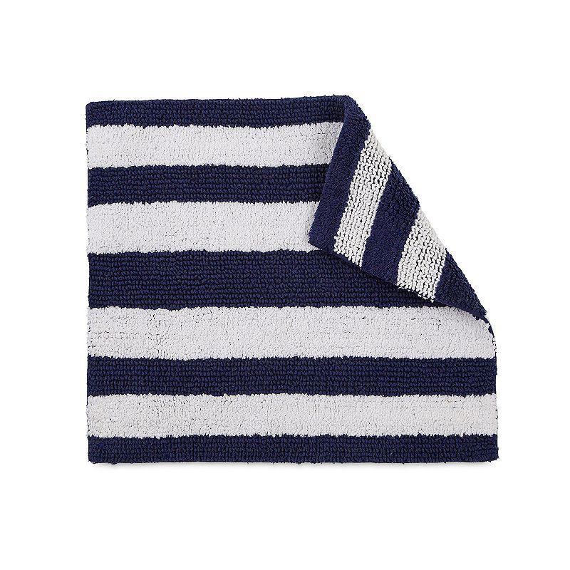 IZOD Navy Stripe Rug