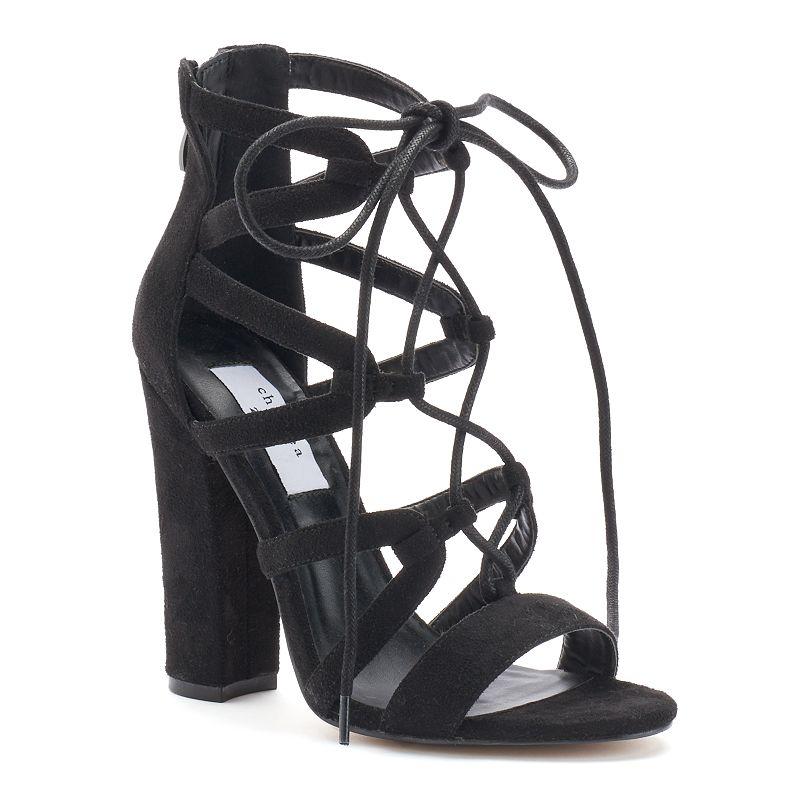 Chelsea & Zoe Elyse Women's High Heel Sandals