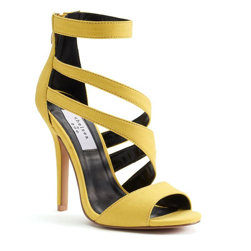 Chelsea & Zoe Cachete Women's High Heel Sandals