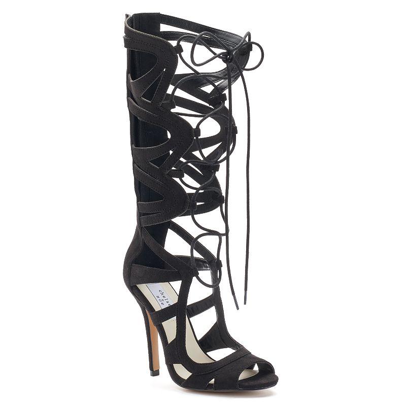 Chelsea & Zoe Carass Women's Gladiator High-Heel Sandals