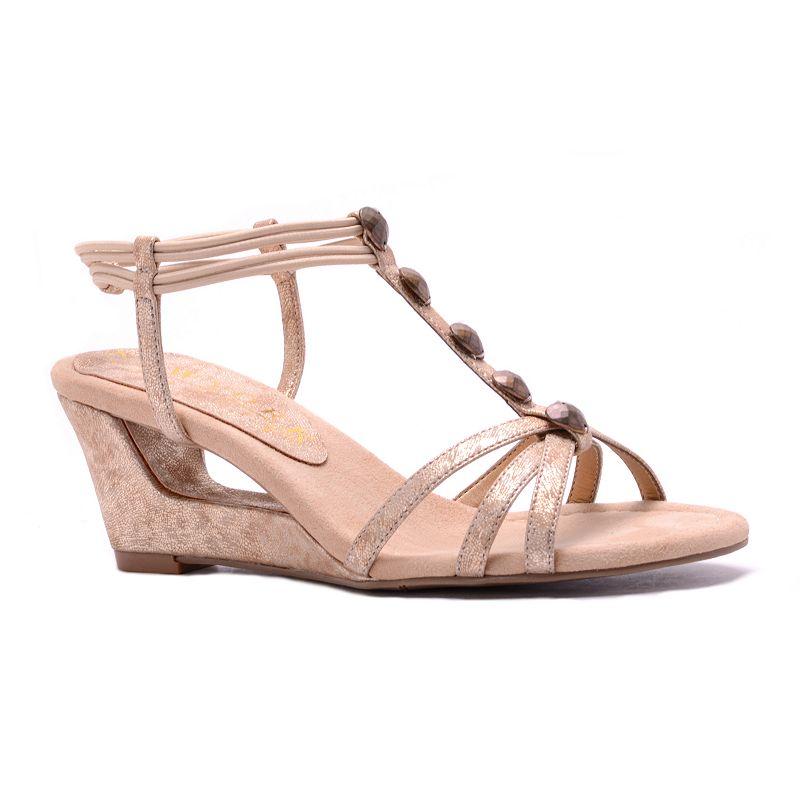 New York Transit Favorite Look Women's Wedge Sandals