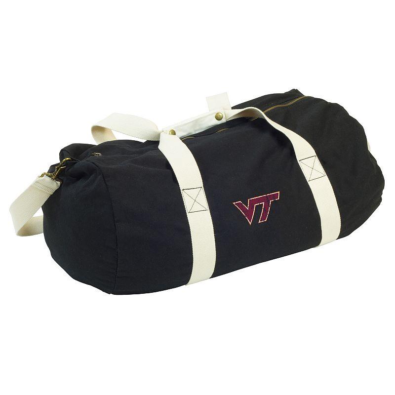 Logo Brand Virginia Tech Hokies Sandlot Duffel Bag