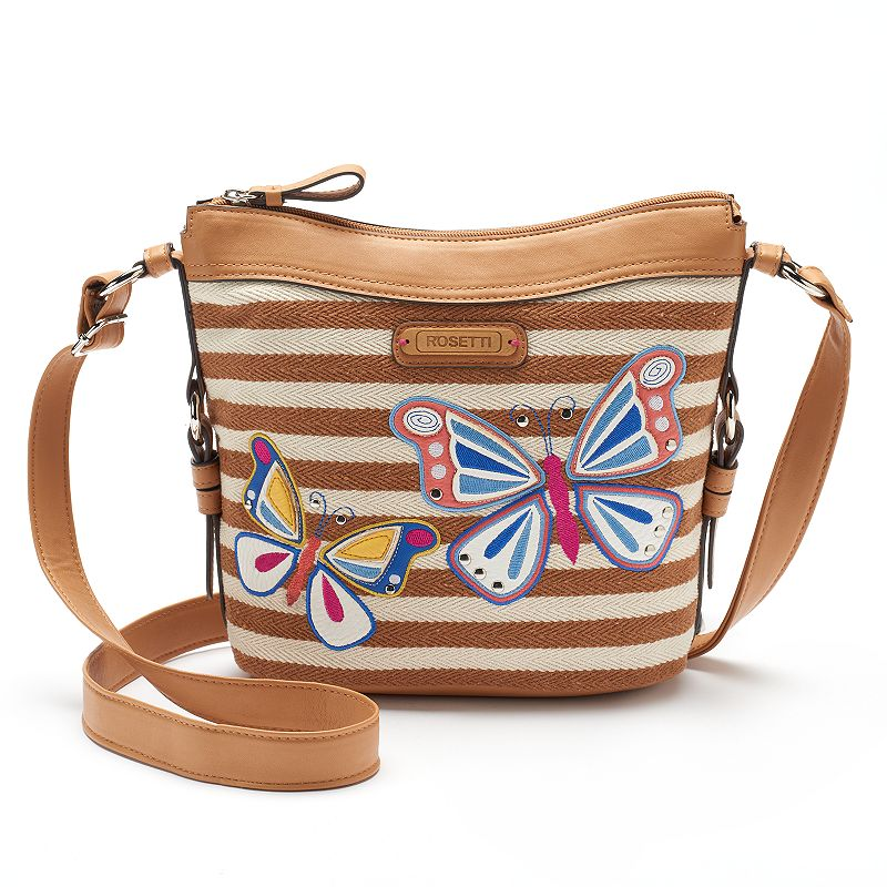 Rosetti Savannah Garden Floral Crossbody Bag