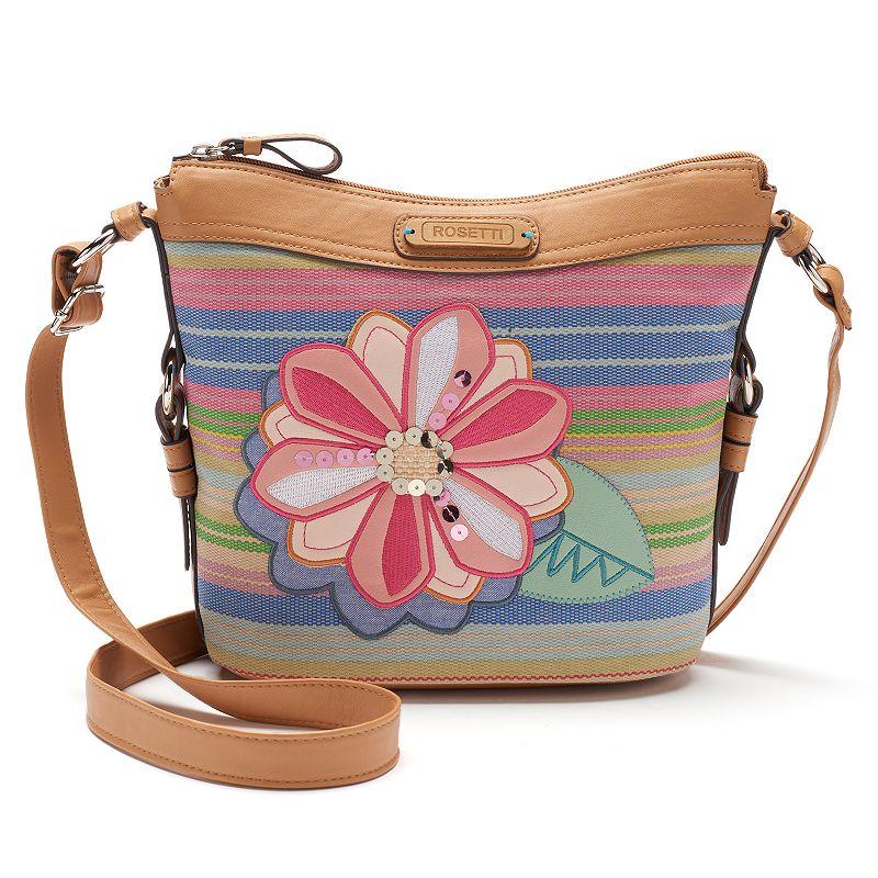 Rosetti Savannah Garden Floral Crossbody Bag