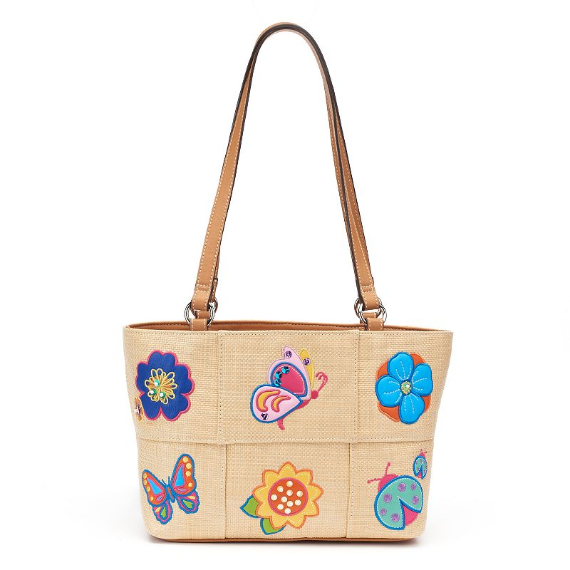 Rosetti Butterfly Floral Tote