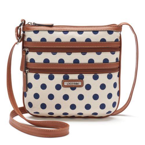 Rosetti Double-Zip Mini Crossbody Bag