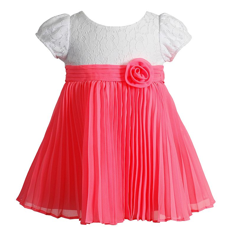 Baby Girl Youngland Pleated Dress