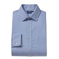 Big & Tall Croft & Barrow® Spread-Collar No-Iron Dress Shirt