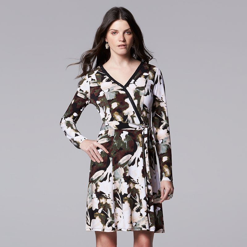 Women's Simply Vera Vera Wang Shift Dress