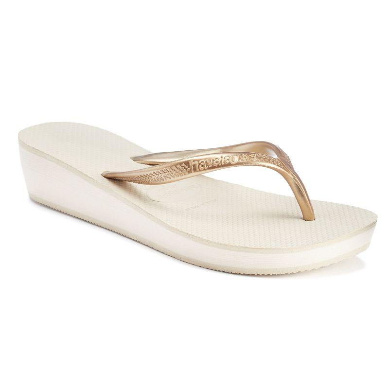 havaianas Women's Wedge Thong Flip-Flops