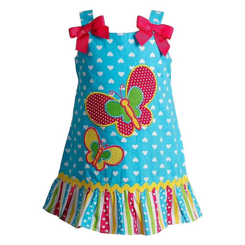Baby Girl Youngland Butterfly Applique Dress