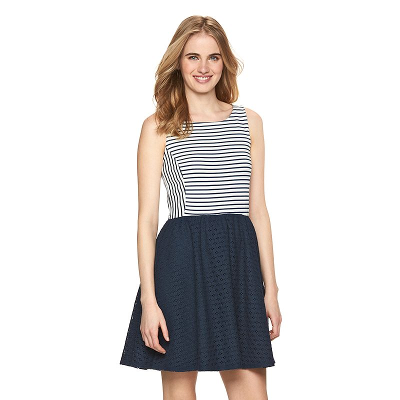Women's LC Lauren Conrad Striped Tank Dress
