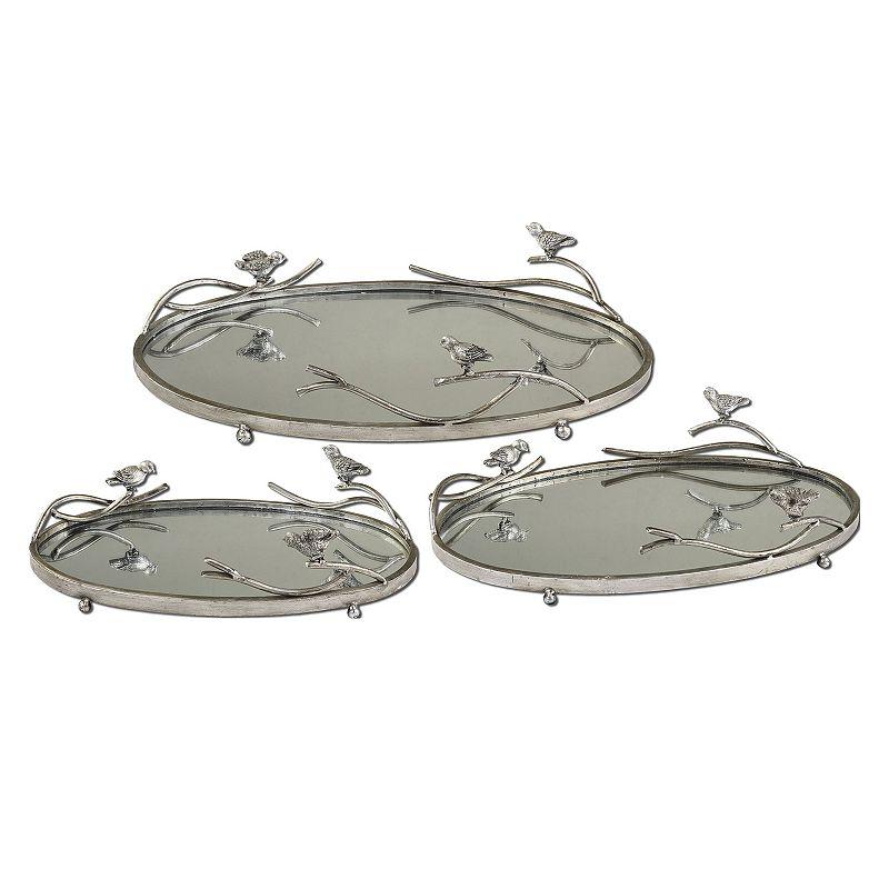 Birds On A Limb Tray 3-piece Set