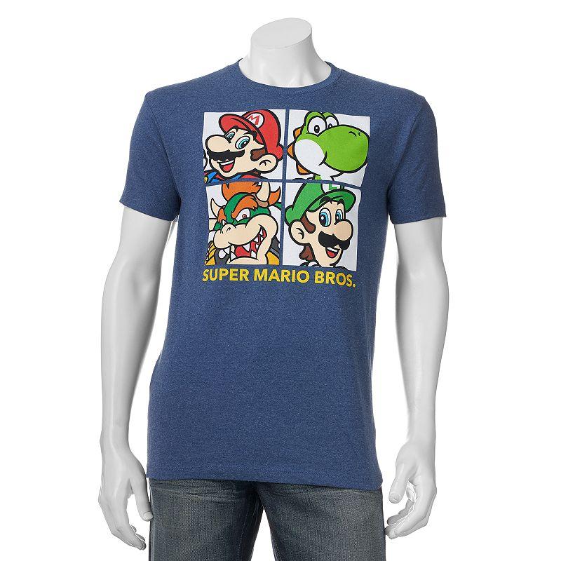 Big & Tall Fifth Sun Super Mario Bros. Boxy Tee