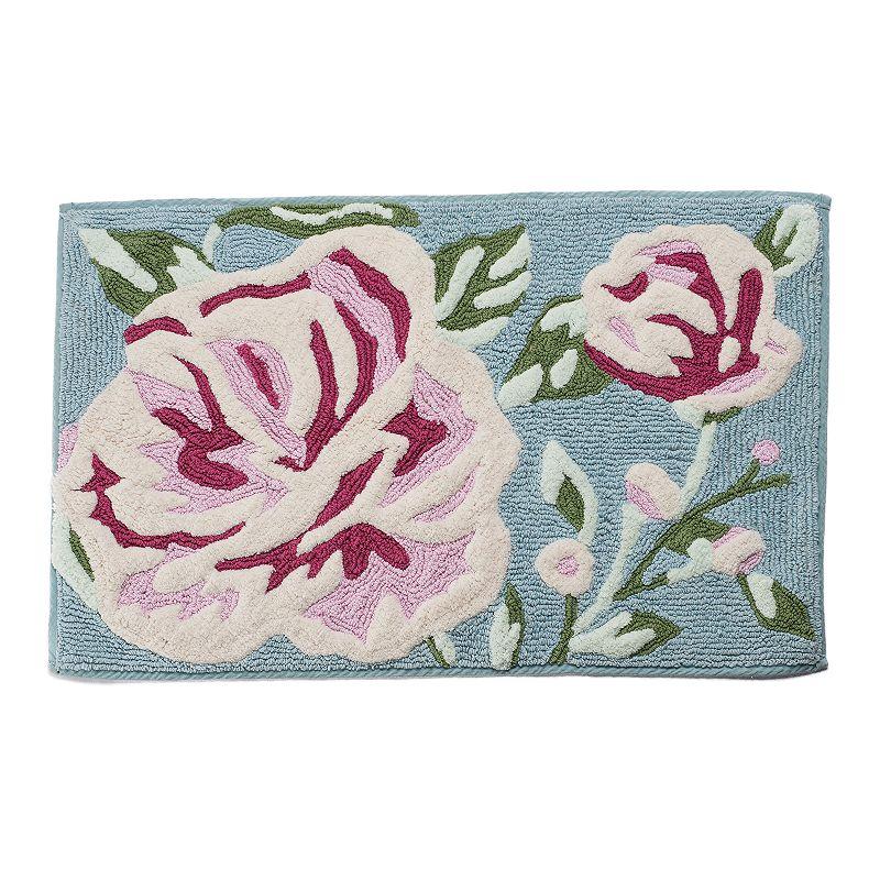 LC Lauren Conrad Floral Loop Rug