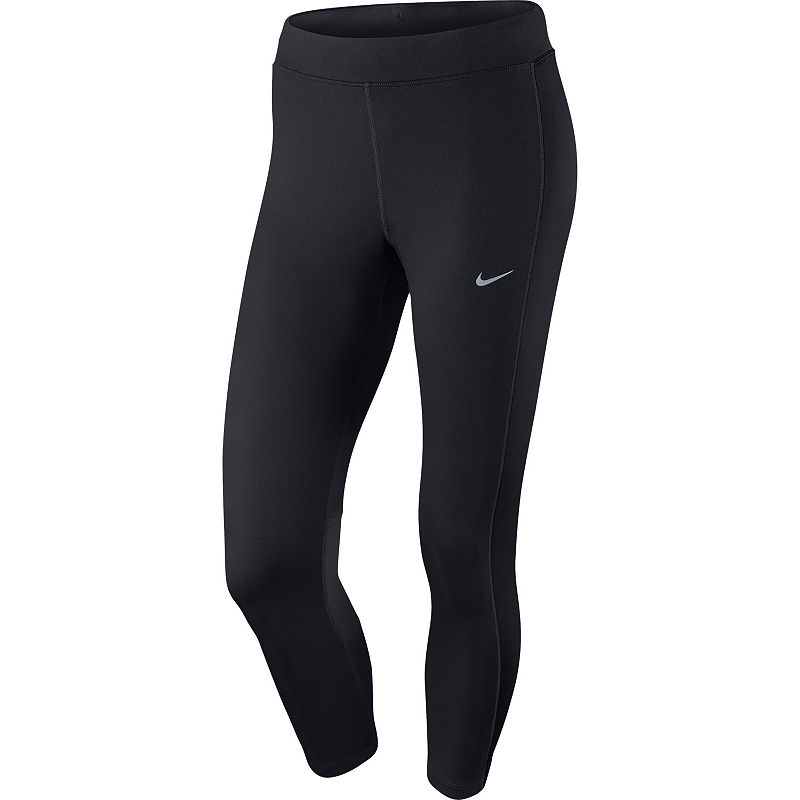Women's Nike Dri-FIT Essential Crop Solid Running Tights