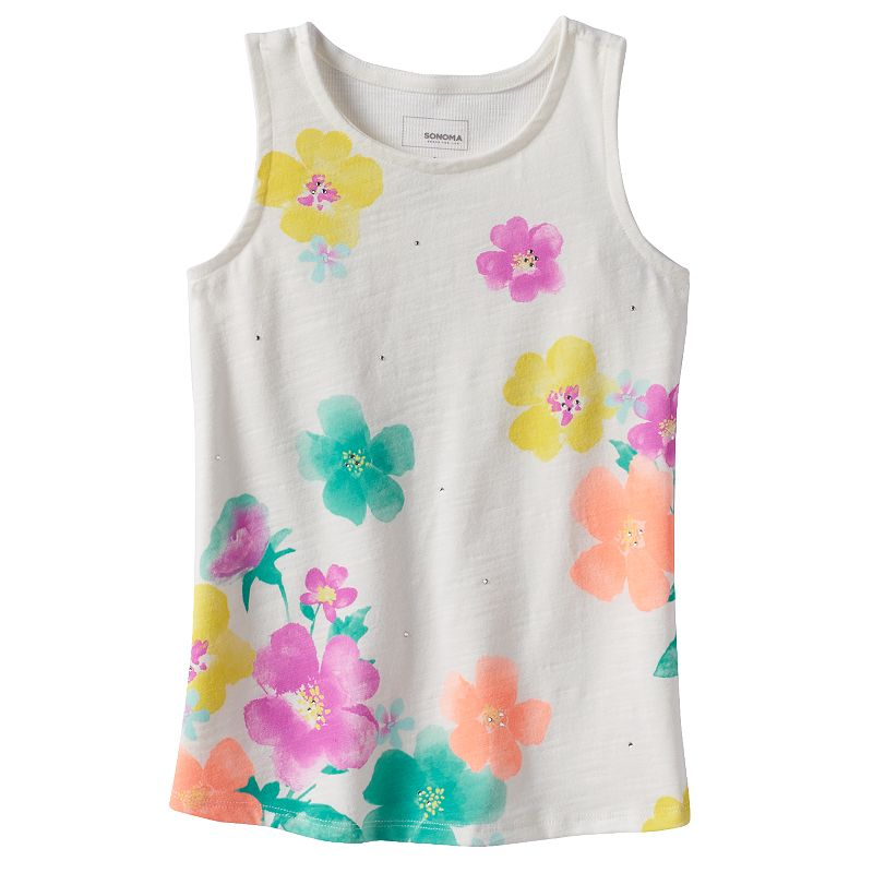 Girls 4-6x SONOMA Goods for Life™ Ribbed-Back Tank
