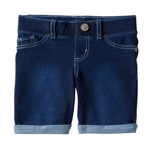 Girls 4-7 SONOMA Goods for Life™ French Terry Denim Bermuda Shorts