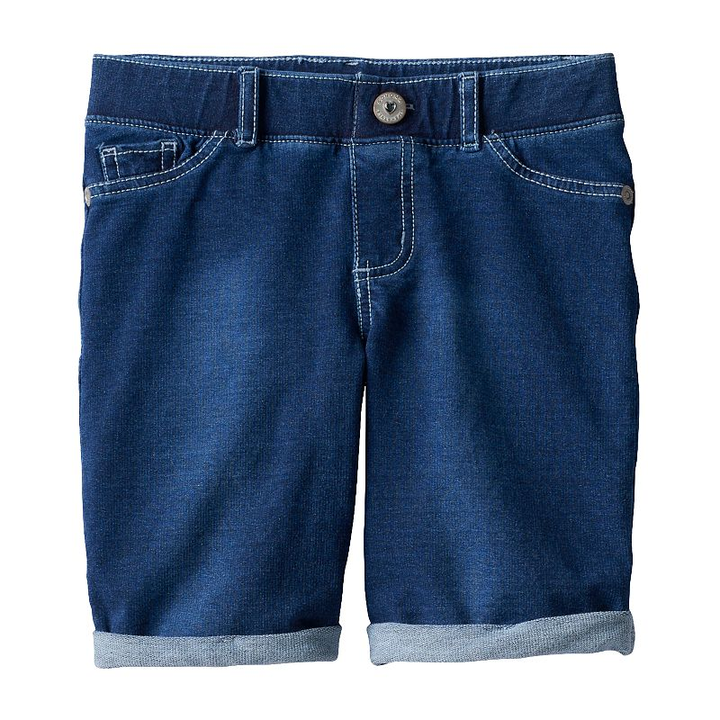 Girls 4-7 SONOMA Goods for Life™ French Terry Denim Bermuda Shorts
