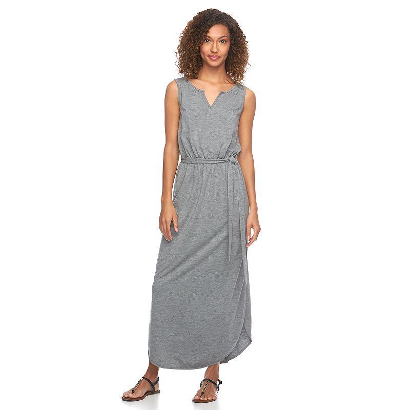 Women's SONOMA Goods for Life™ Splitneck Maxi Dress