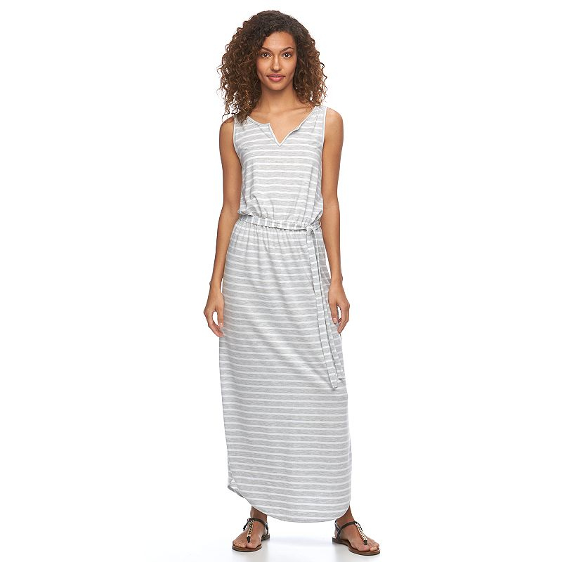 Women's SONOMA Goods for Life™ Splitneck Maxi Dress
