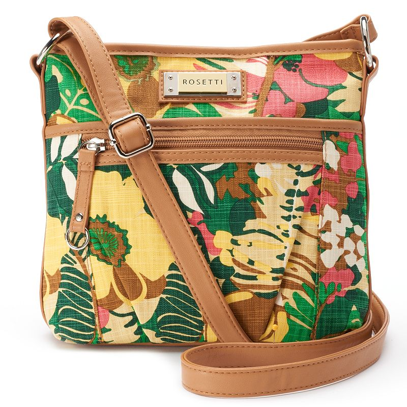 Rosetti Carlotta Floral Mini Crossbody Bag