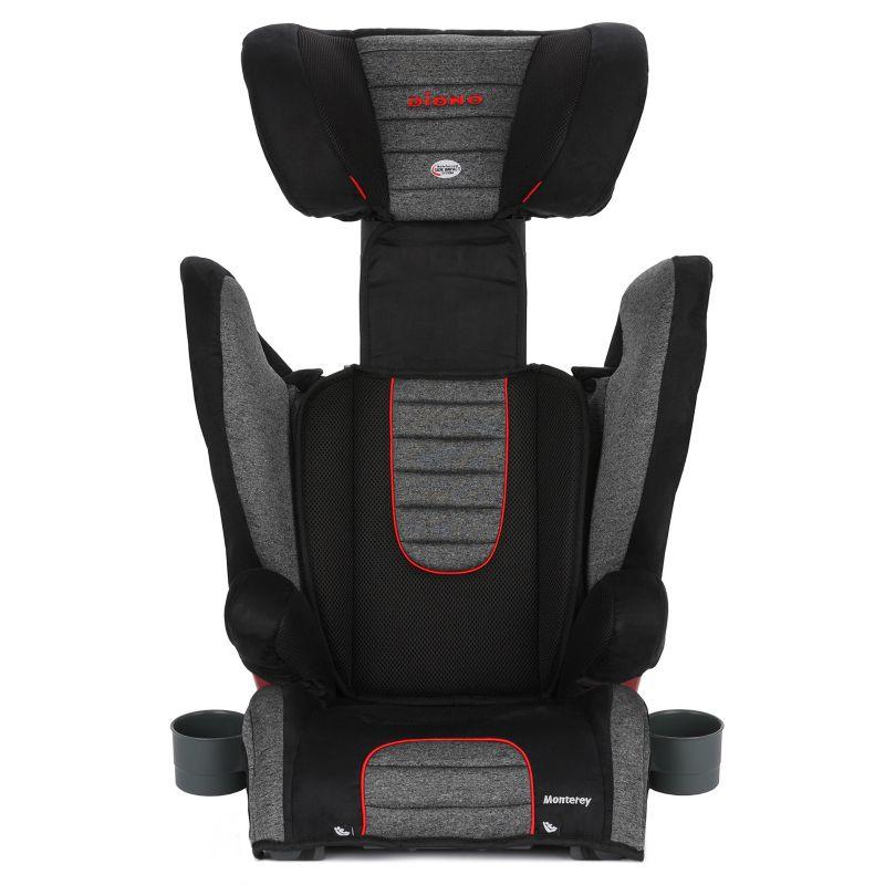 Diono Monterey Convertible Booster Car Seat, Grey