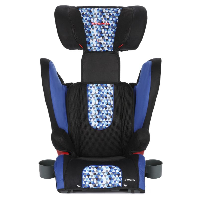 Diono Monterey Convertible Booster Car Seat, Blue