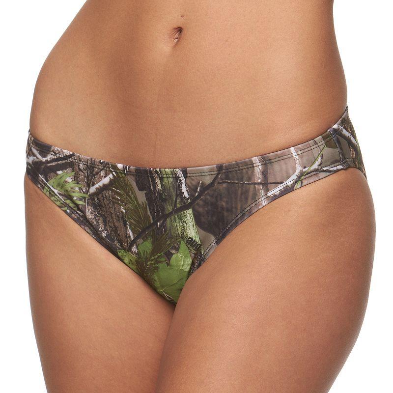 Juniors' Realtree Camouflage Bikini Bottoms