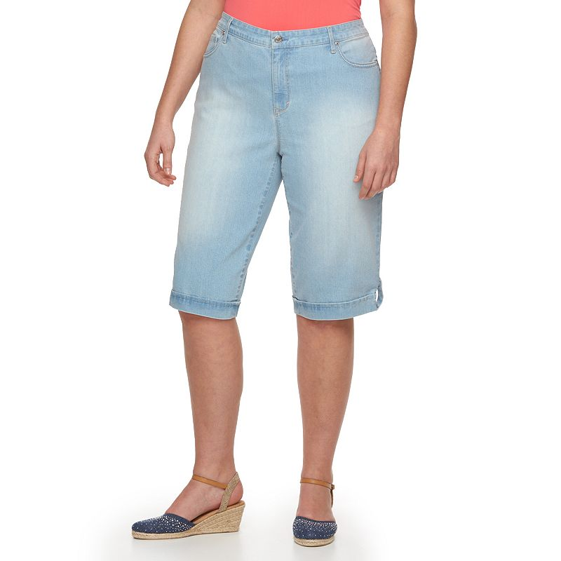 Plus Size Gloria Vanderbilt Jordyn Skimmer Capris