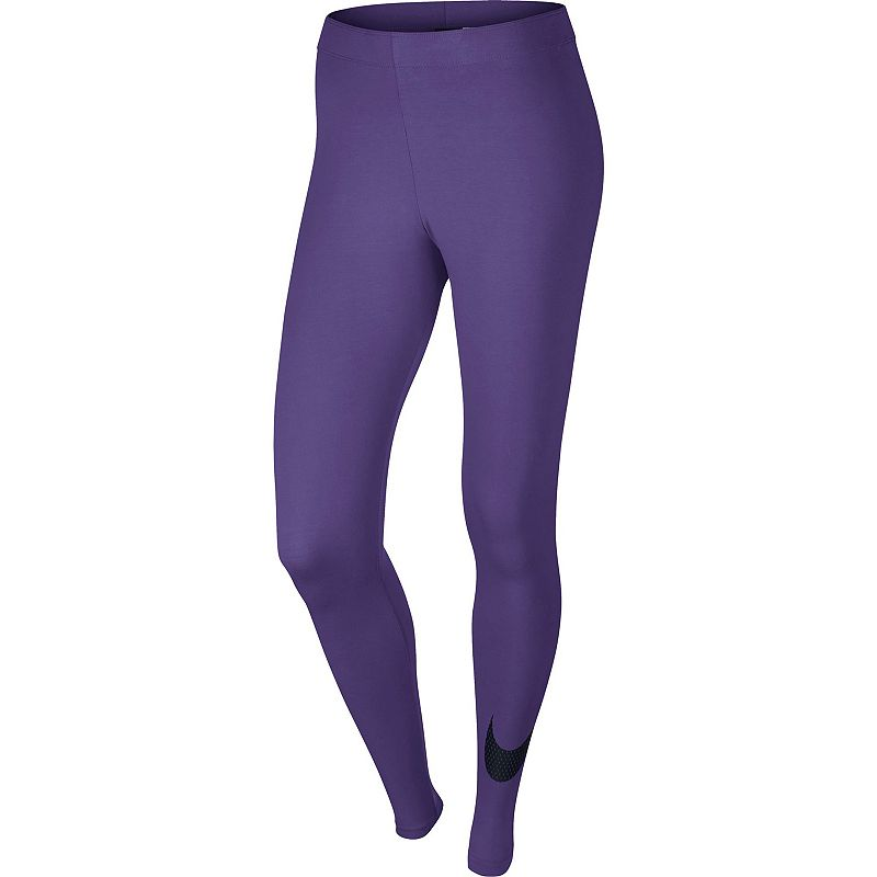 Women's Nike Club Large Swoosh Leggings