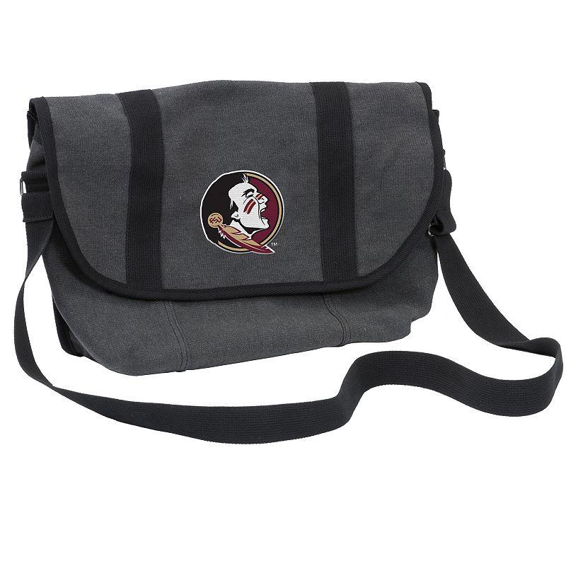Logo Brand Florida State Seminoles Varsity Messenger Bag