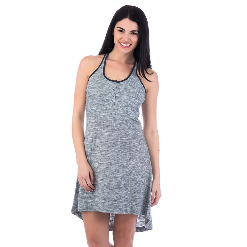 Women's Avalanche Kira Space-Dyed High-Low Hem Dress