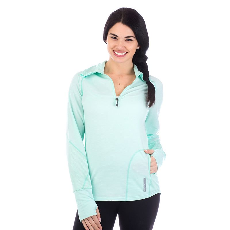 Women's Avalanche Hype Quarter-Zip Mesh Top