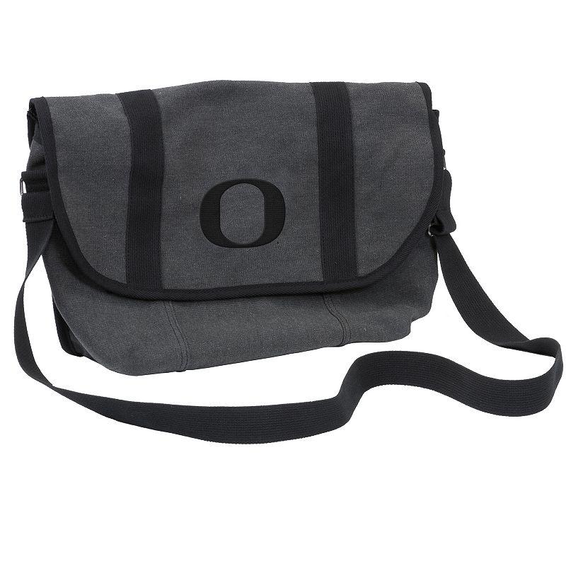 Logo Brand Oregon Ducks Varsity Messenger Bag