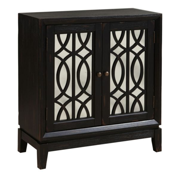 2-Door Windowpane Cabinet