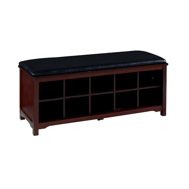 Linon Cape Anne Storage Bench