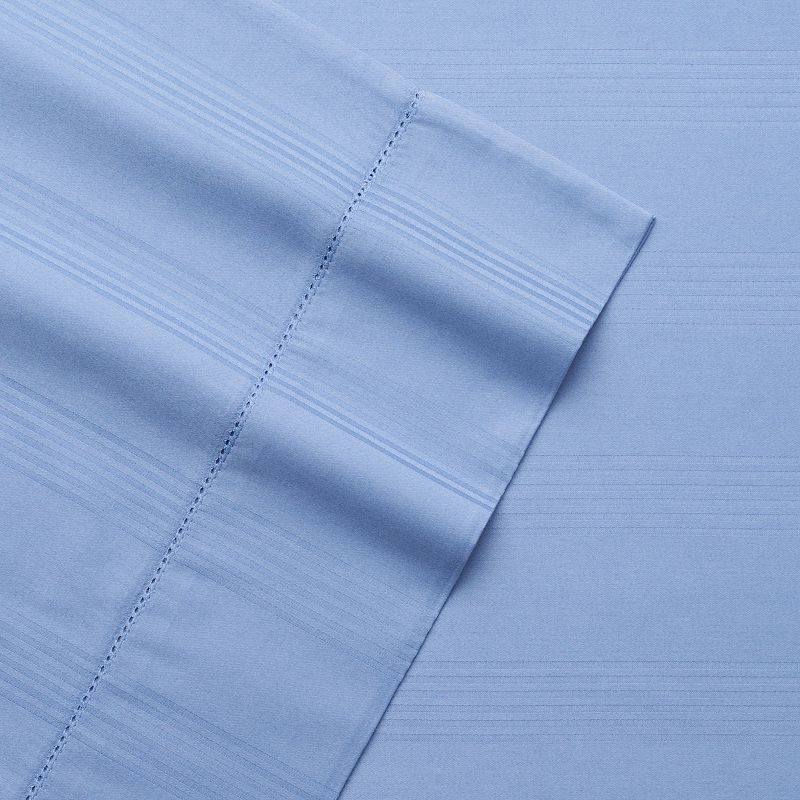 Grand Collection 400 Thread Count Woven Stripe Sheet Set