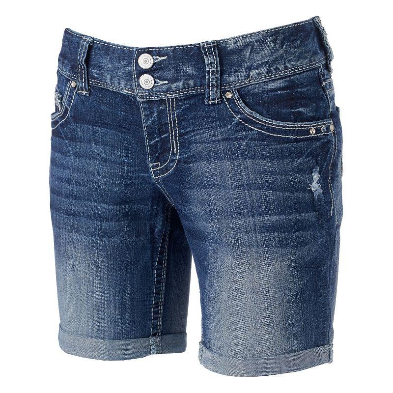 Juniors' Series 31 Bodycon Bermuda Shorts