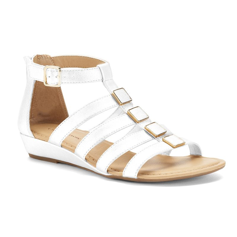 Croft & Barrow® Women's Wedge Gladiator Sandals