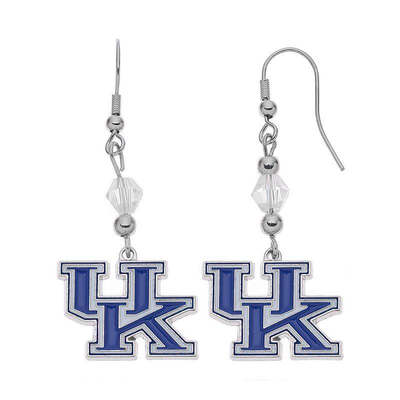 Kentucky Wildcats Team Logo Beaded Drop Earrings