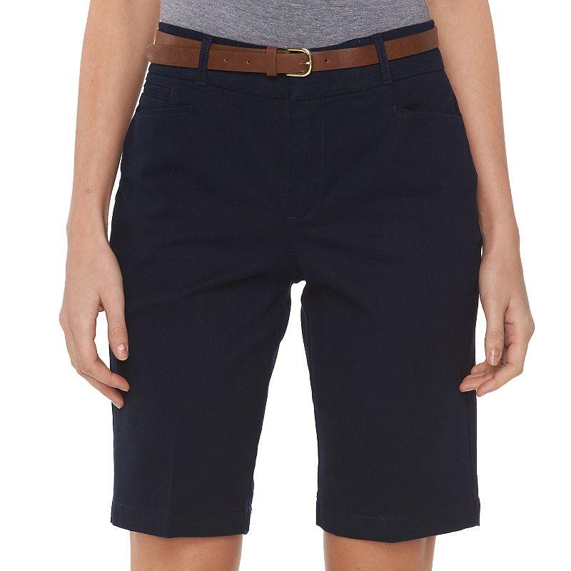 Women's Gloria Vanderbilt Charlene Bermuda Shorts