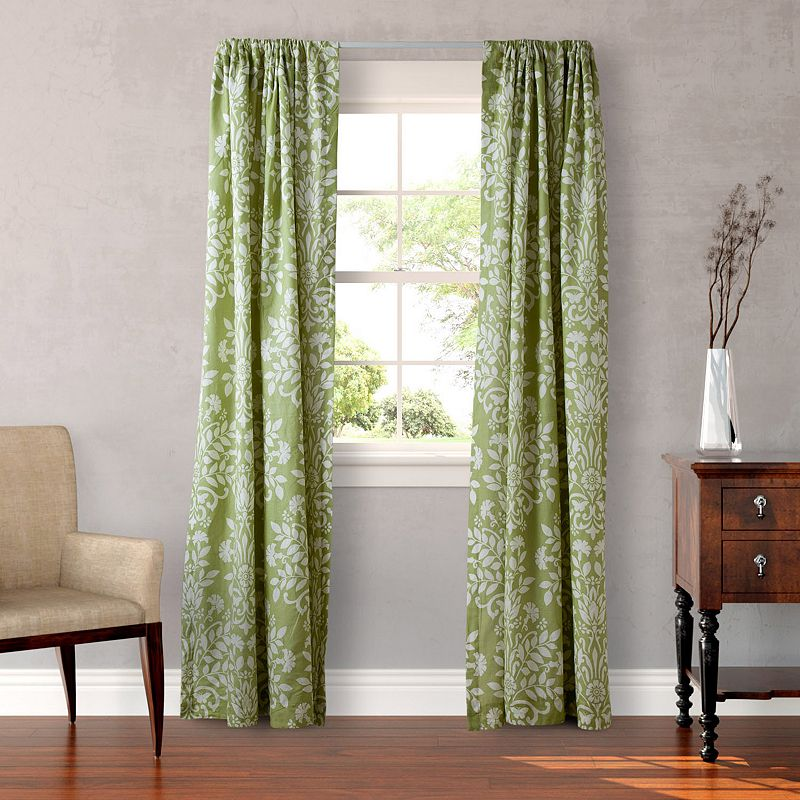 Laura Ashley Lifestyles 2-pack Rowland Curtains - 54'' x 87''