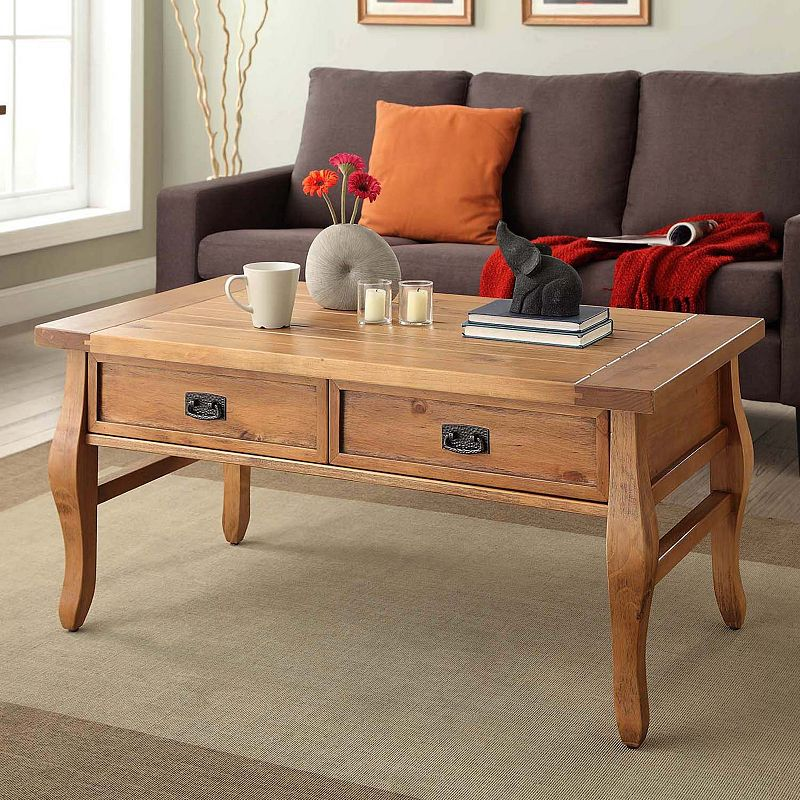 Linon Santa Fe Coffee Table
