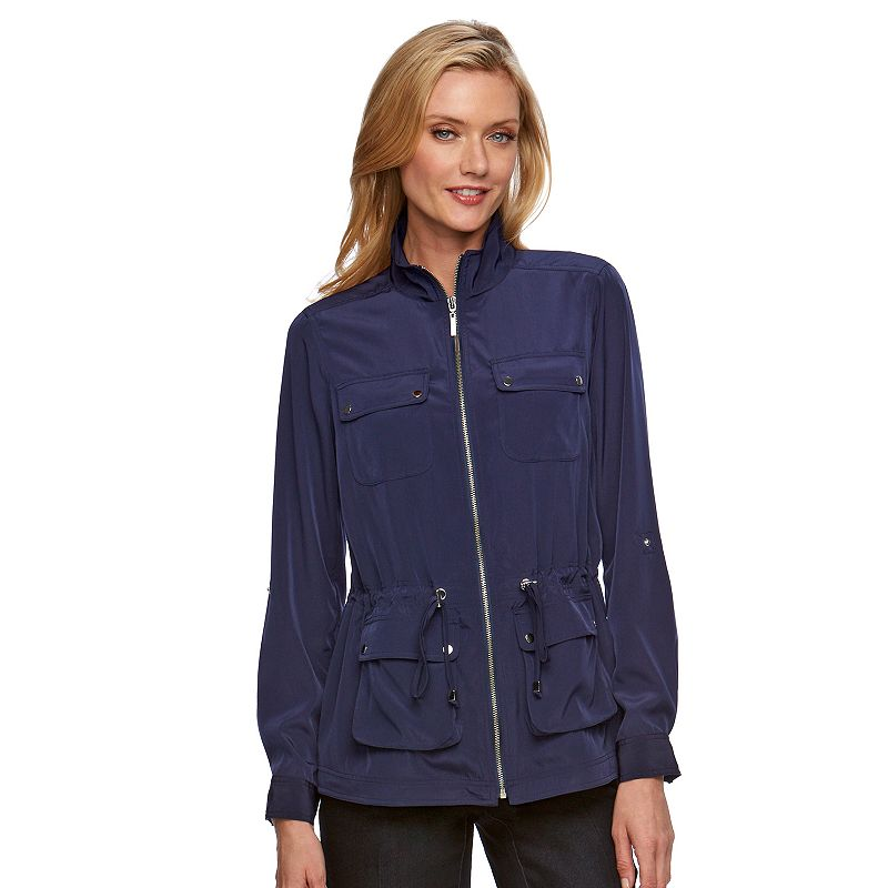 Women's Dana Buchman Soft Roll-Tab Jacket