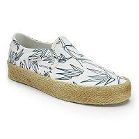Vans Asher Women's Espadrille Slip-On Shoes