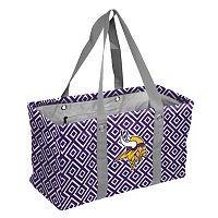Logo Brand Minnesota Vikings Diamond Picnic Caddy