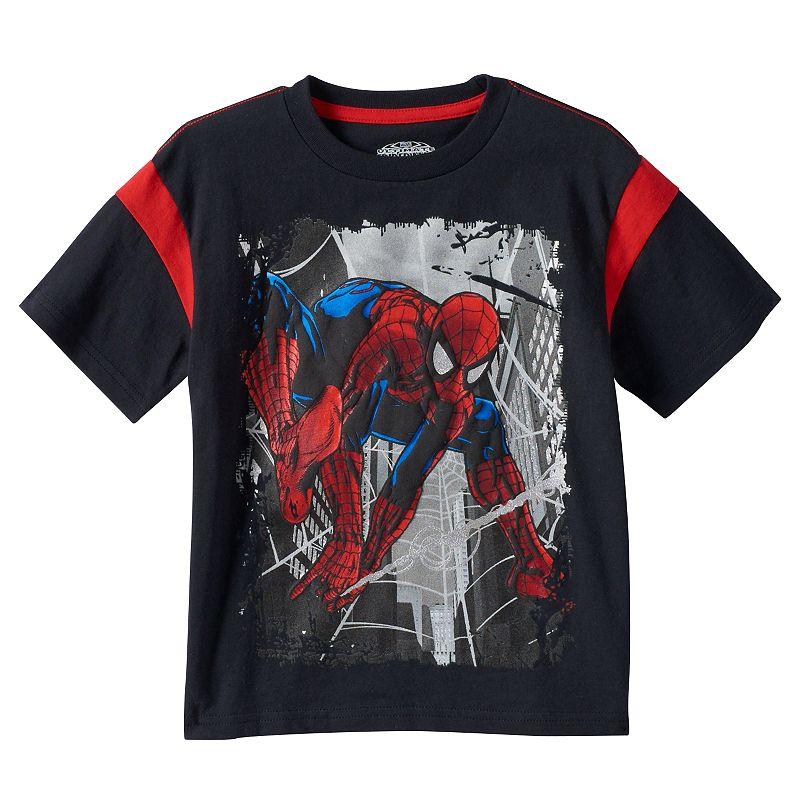 Kohl S Toys Boys 5 7 : Boys marvel ultimate spider man puff print foil tee
